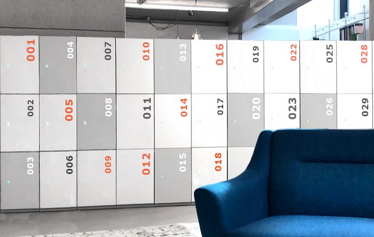 Smart lockers 007